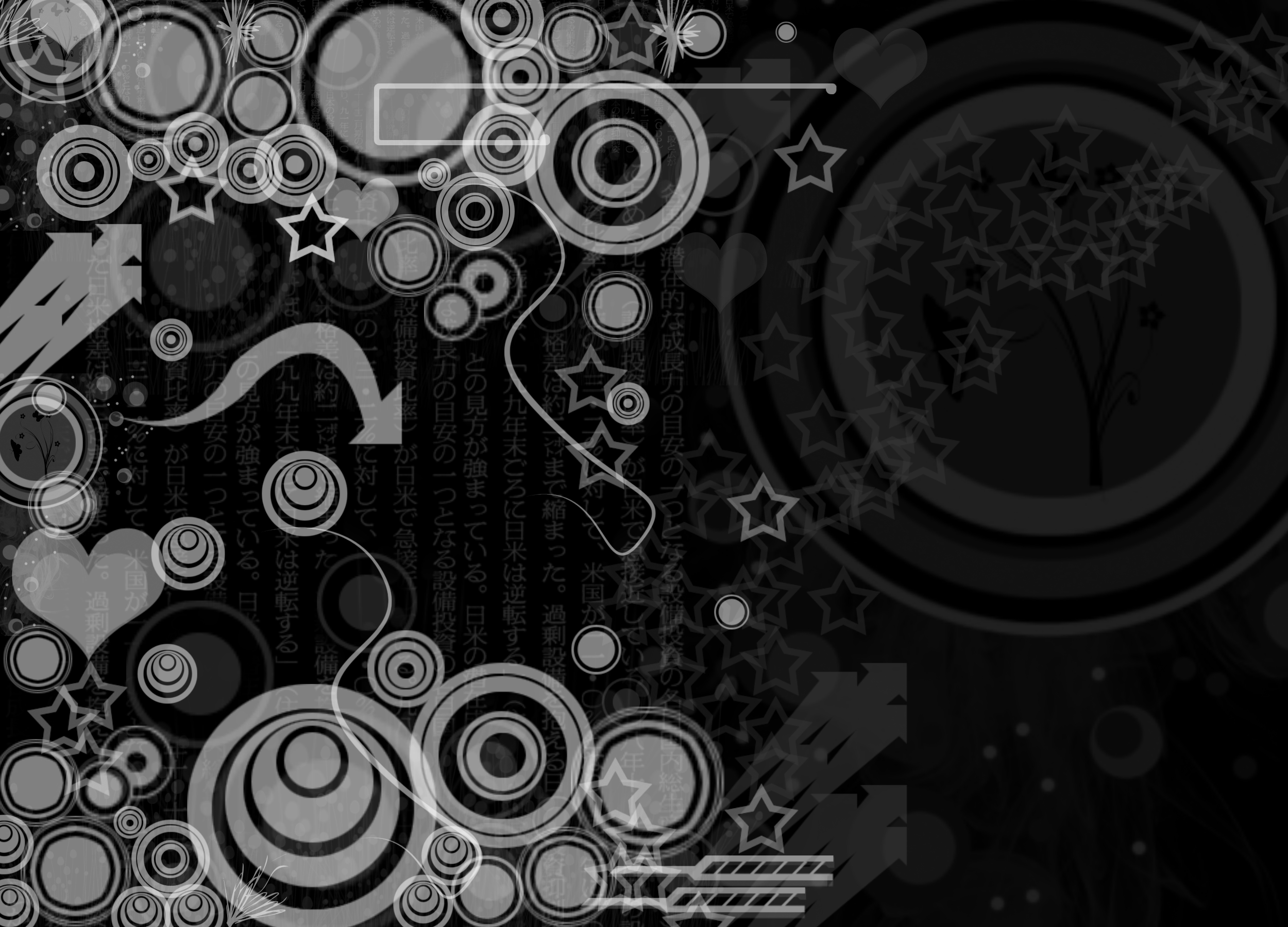 the best black and white desktop wallpapers that you can set up on 2500x1800
