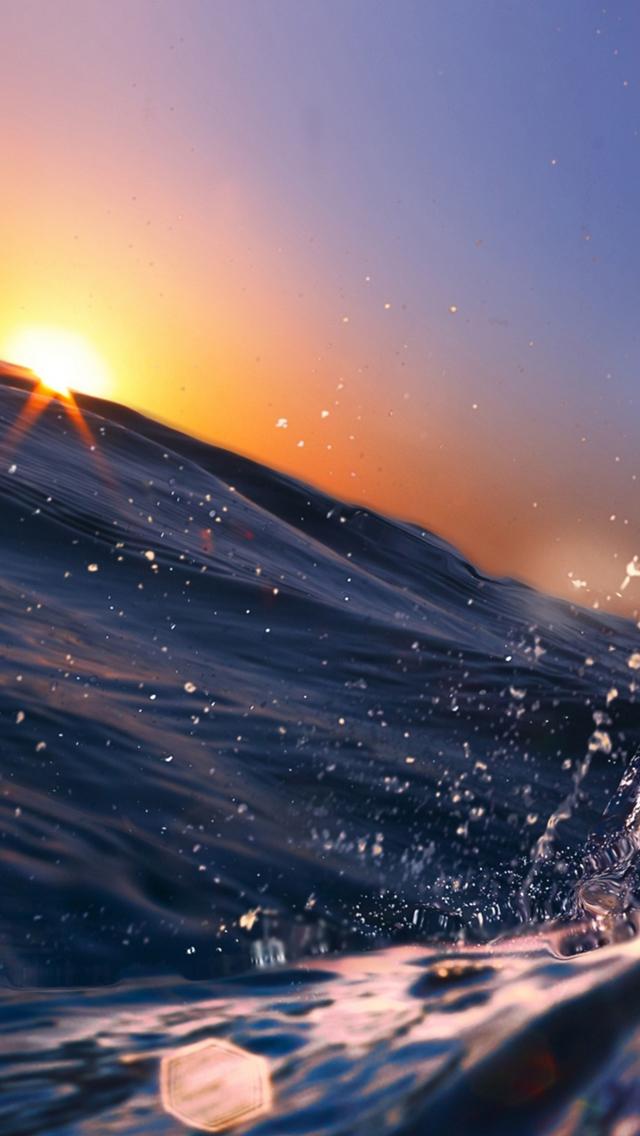 Ocean iPhone 5s Wallpaper Download iPhone Wallpapers iPad 640x1136