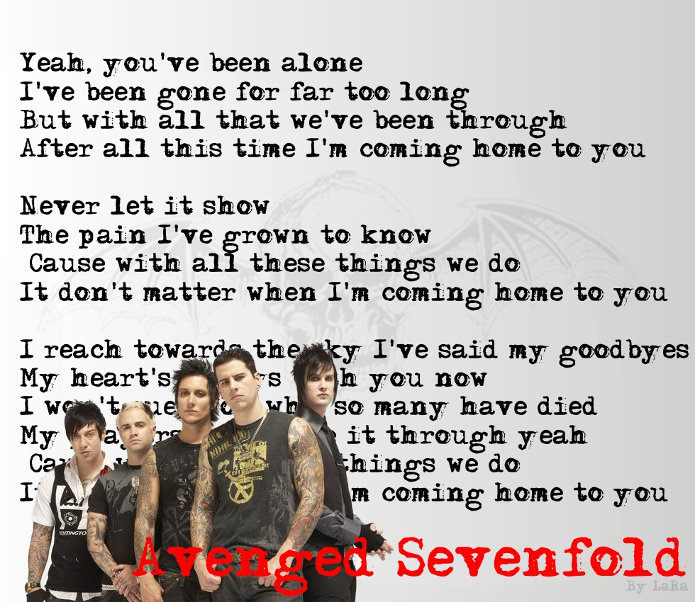 Wallpaper Avenged Sevenfold My image 980x850