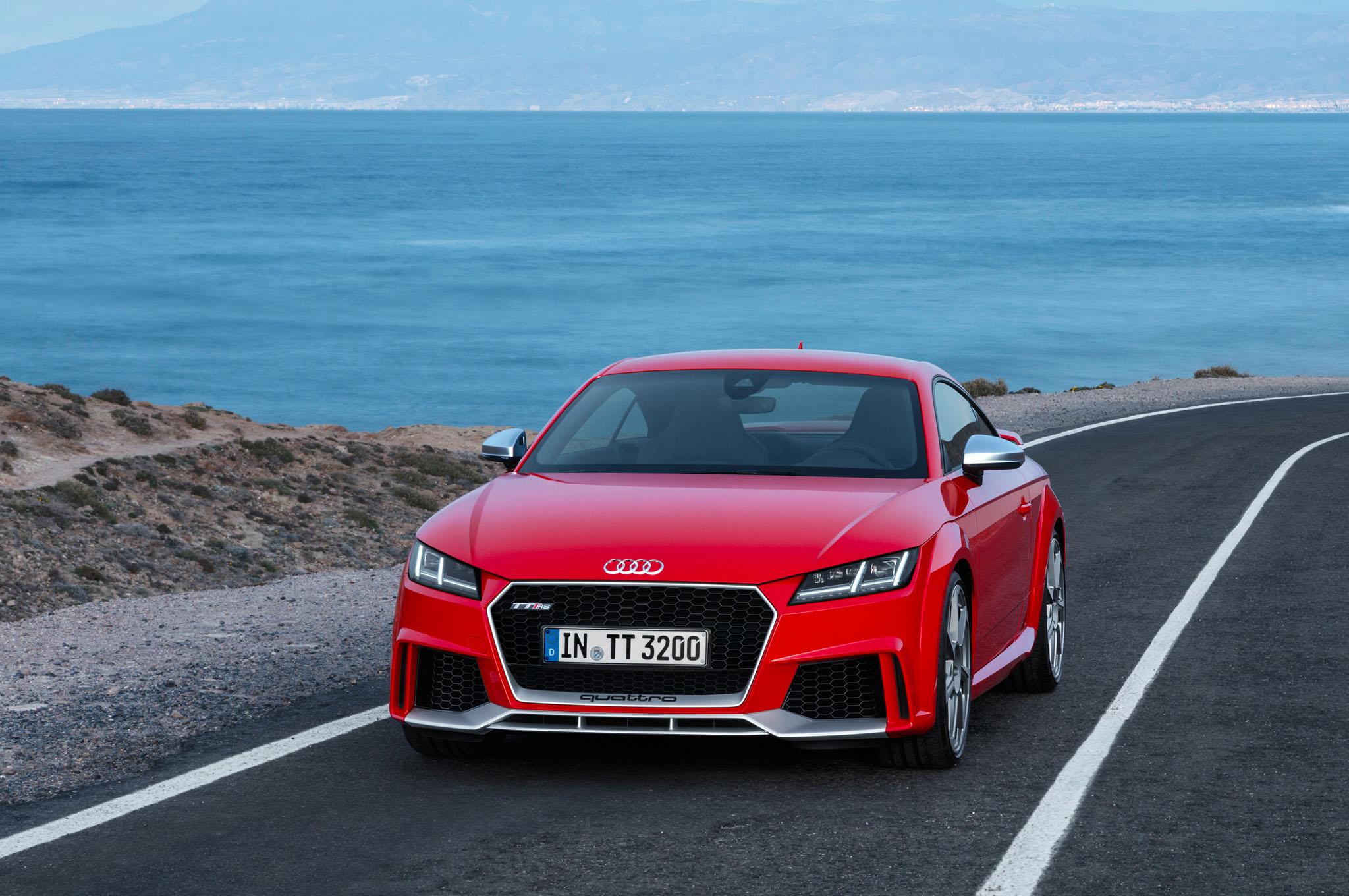 2017 Audi TT RS Coupe High Definition Wallpaper HD Car 2048x1360