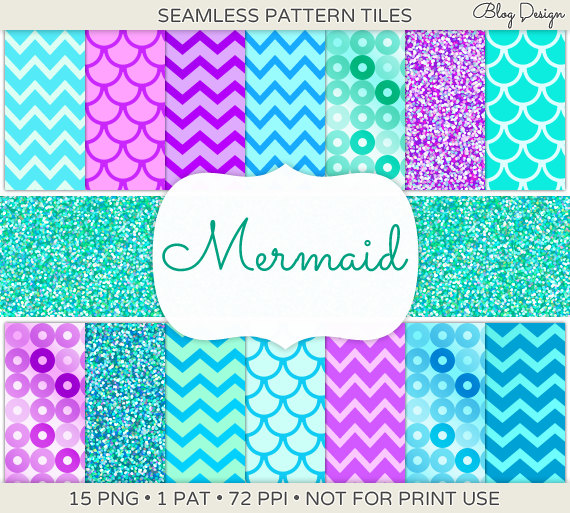Unavailable Listing On Etsy: Mermaid Scale Wallpaper