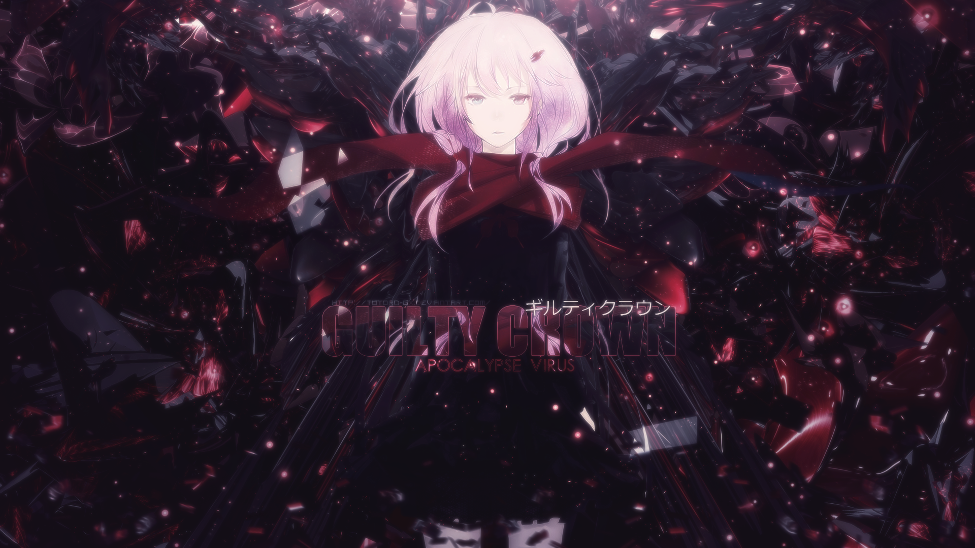 Anime Guilty Crown Inori Yuzuriha Wallpaper qqq Computer 1920x1080