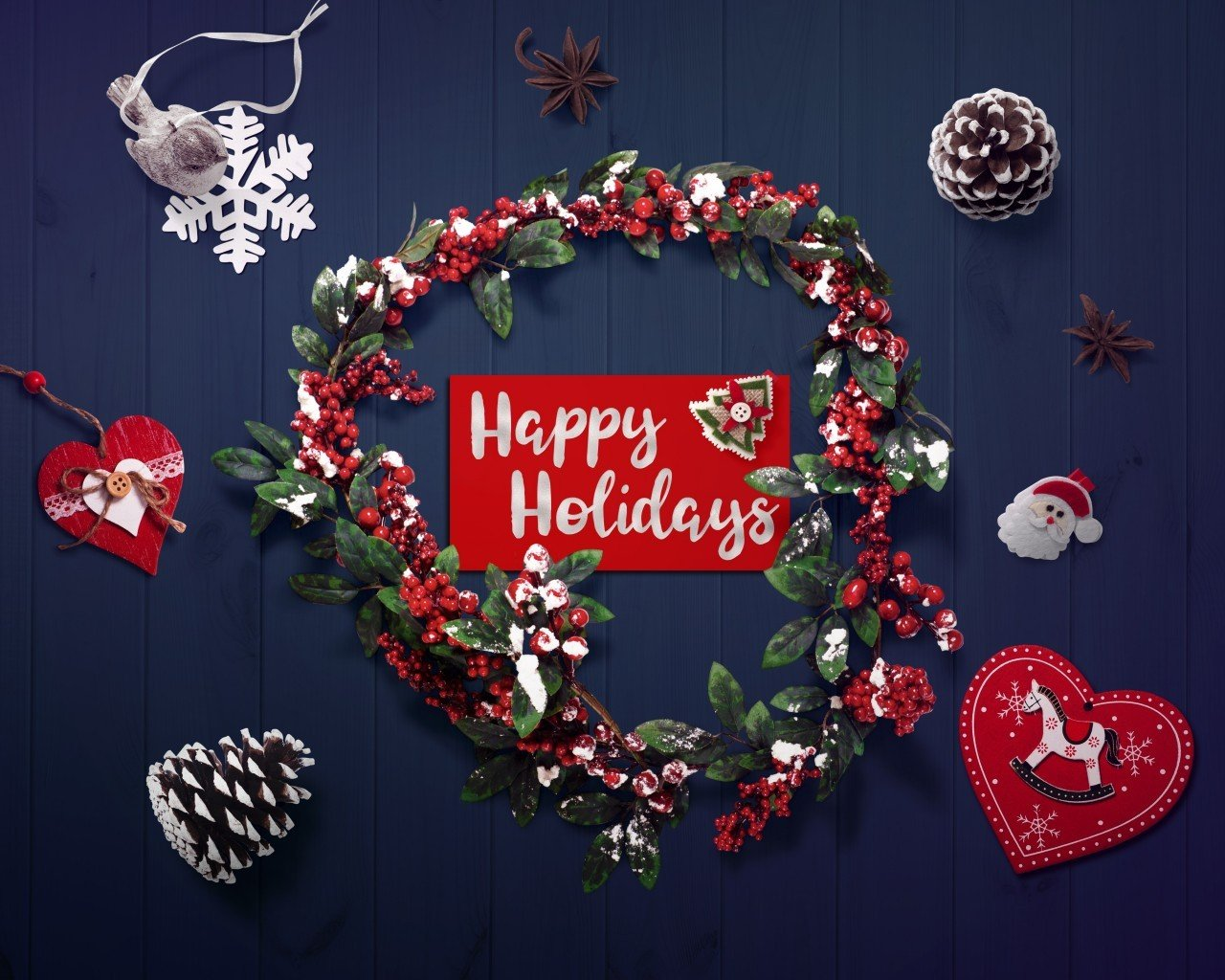 Download 1280x1024 Merry Christmas 2020 Decorations Happy 1280x1024