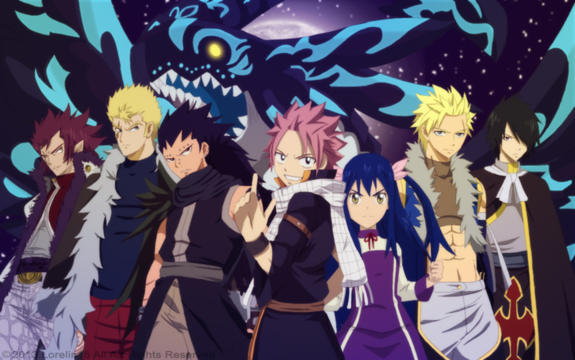 48 Fairy Tail Dragon Slayer Wallpaper On Wallpapersafari