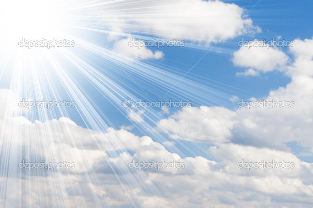 Sunny Sky Background Sunny sky background   stock 1023x682