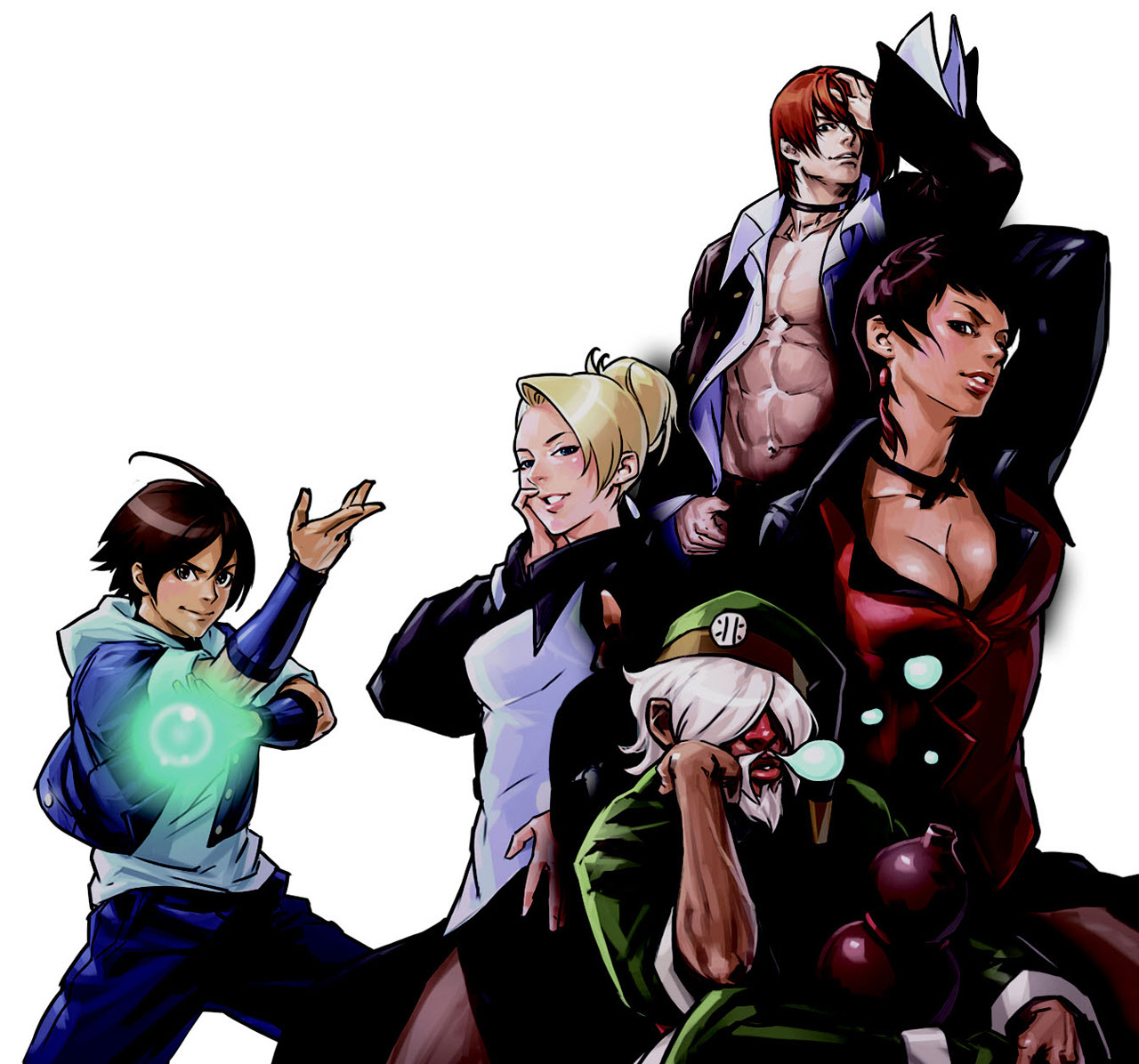19 The King Of Fighters Mature Wallpapers On Wallpapersafari