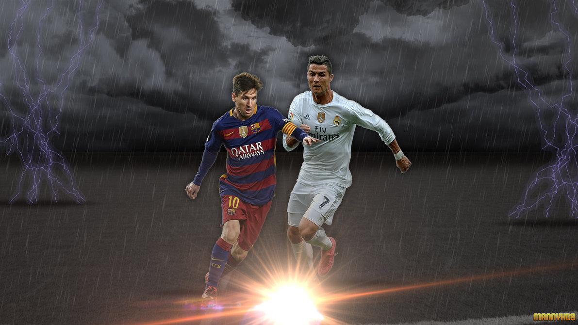 Wallpaper Messi Vs Cristiano Ronaldo 2016 By MannyHD29 1191x670