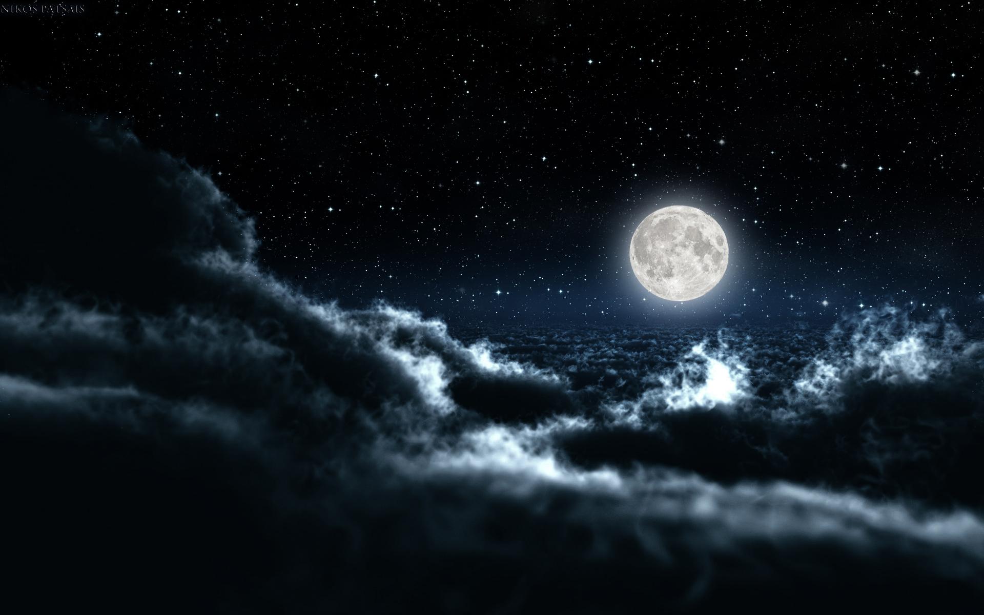 Pics Photos   Night Sky Hd Wallpaper 150x150 Night Sky Hd 1920x1200