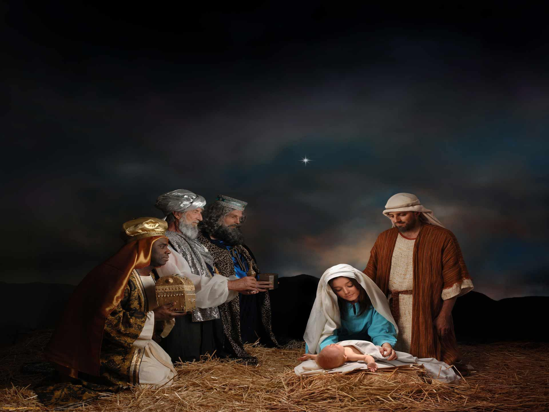 Nativity Scene Desktop Wallpapers 1920x1440