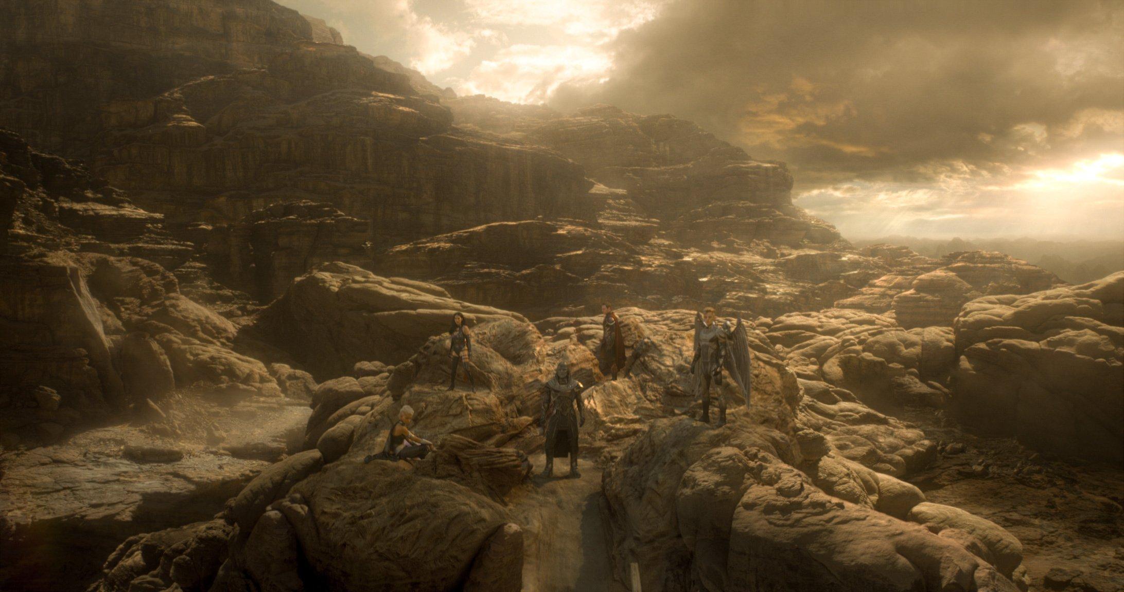 En Sabah Nur and Four Horsemen X Men Films 2184x1152