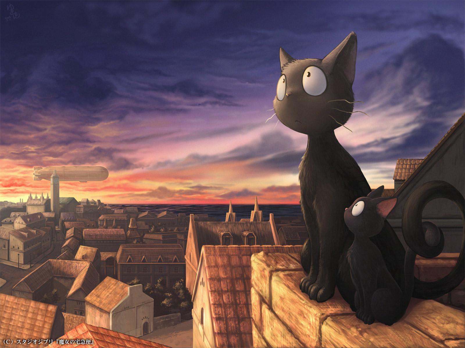 Studio Ghibli Wallpaper 1600x1200 Studio Ghibli Kikis Delivery 1600x1200