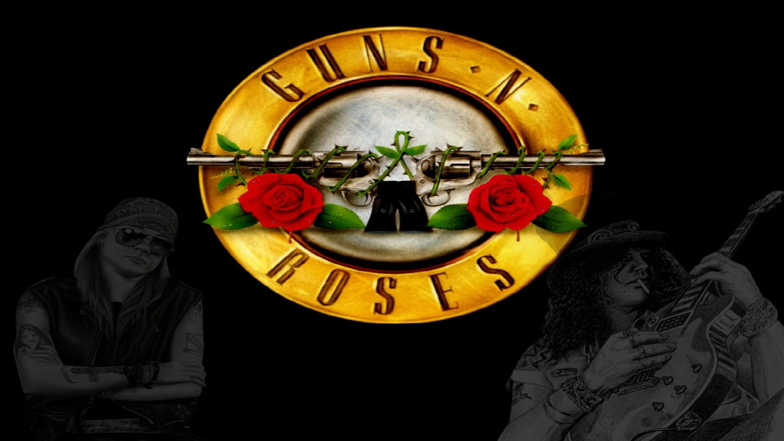 Guns amp Roses Wallpaper and Background 1600x900 ID278173 1600x900