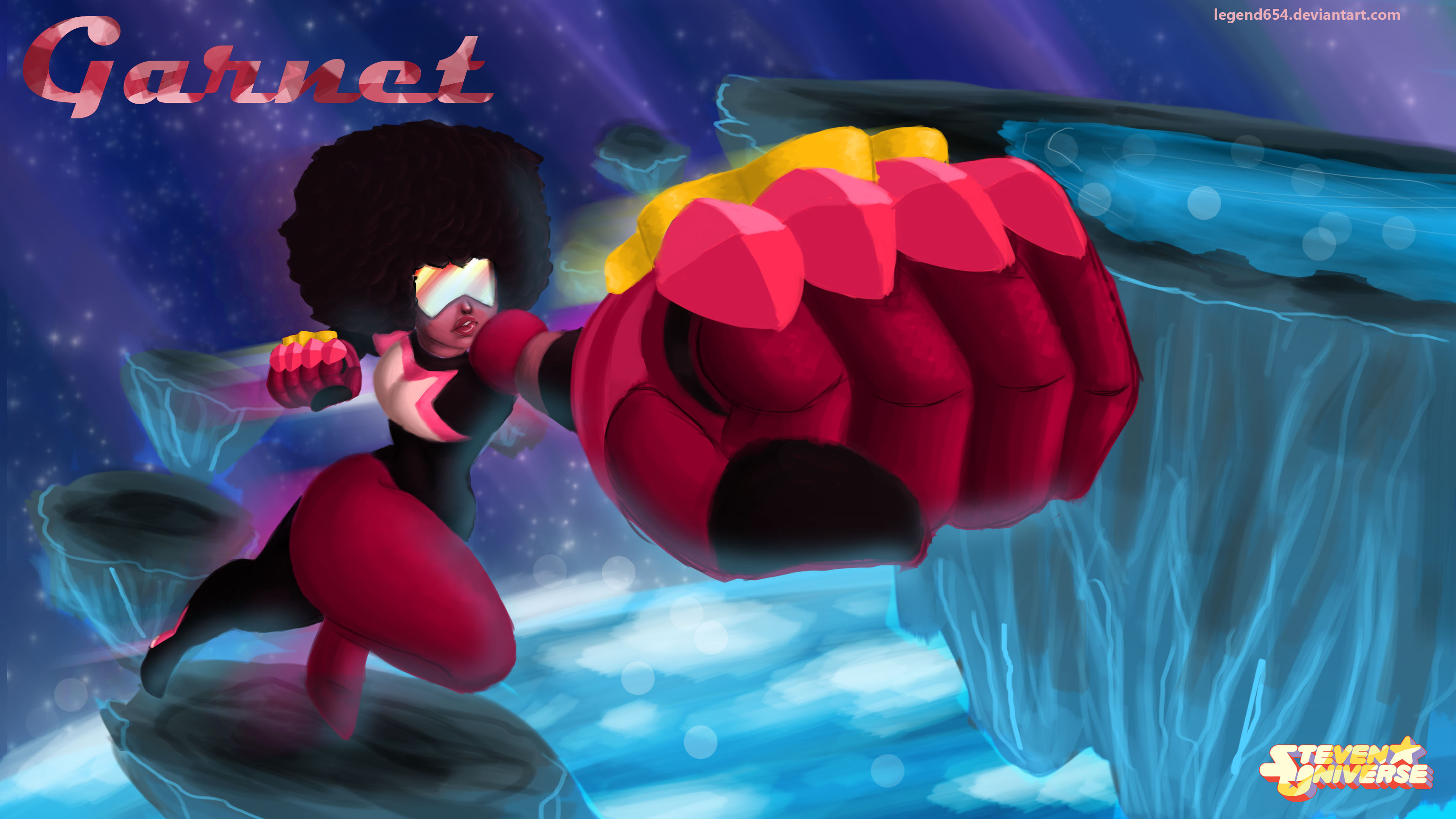 Garnet Steven Universe wallpaper by legend654 3456x1944