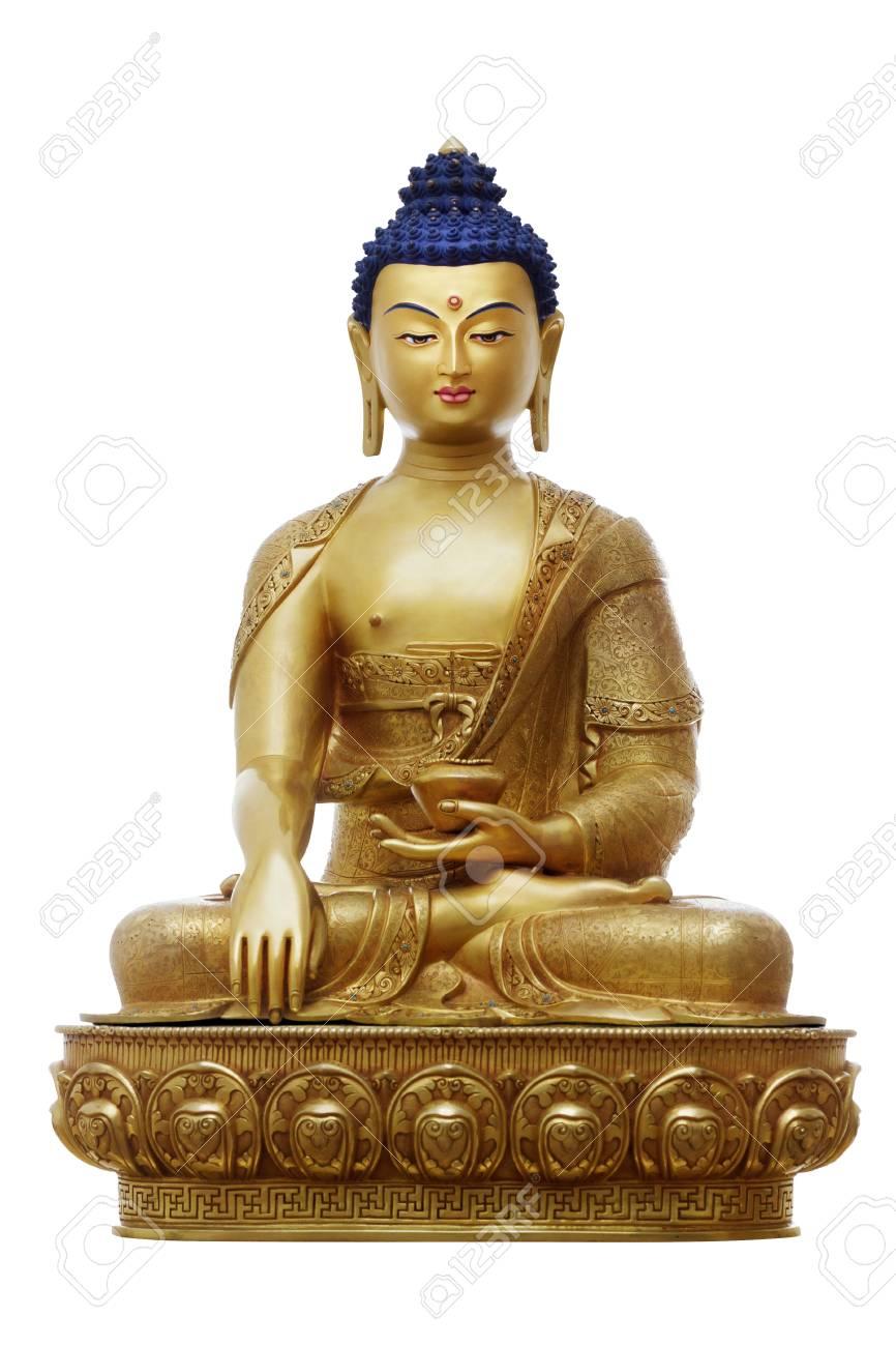Beautiful Shining Classical Buddha Shakyamuni Siddhartha Gautama 866x1300