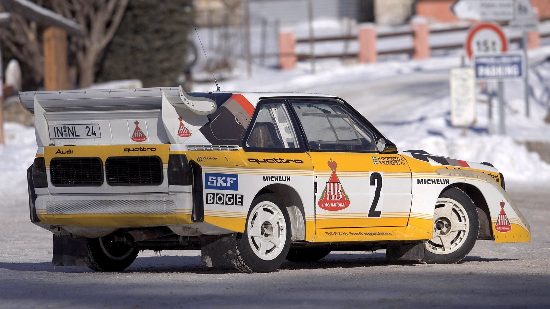 Audi A1 rally group B car vehicle quattro wallpaper background 1920x1080
