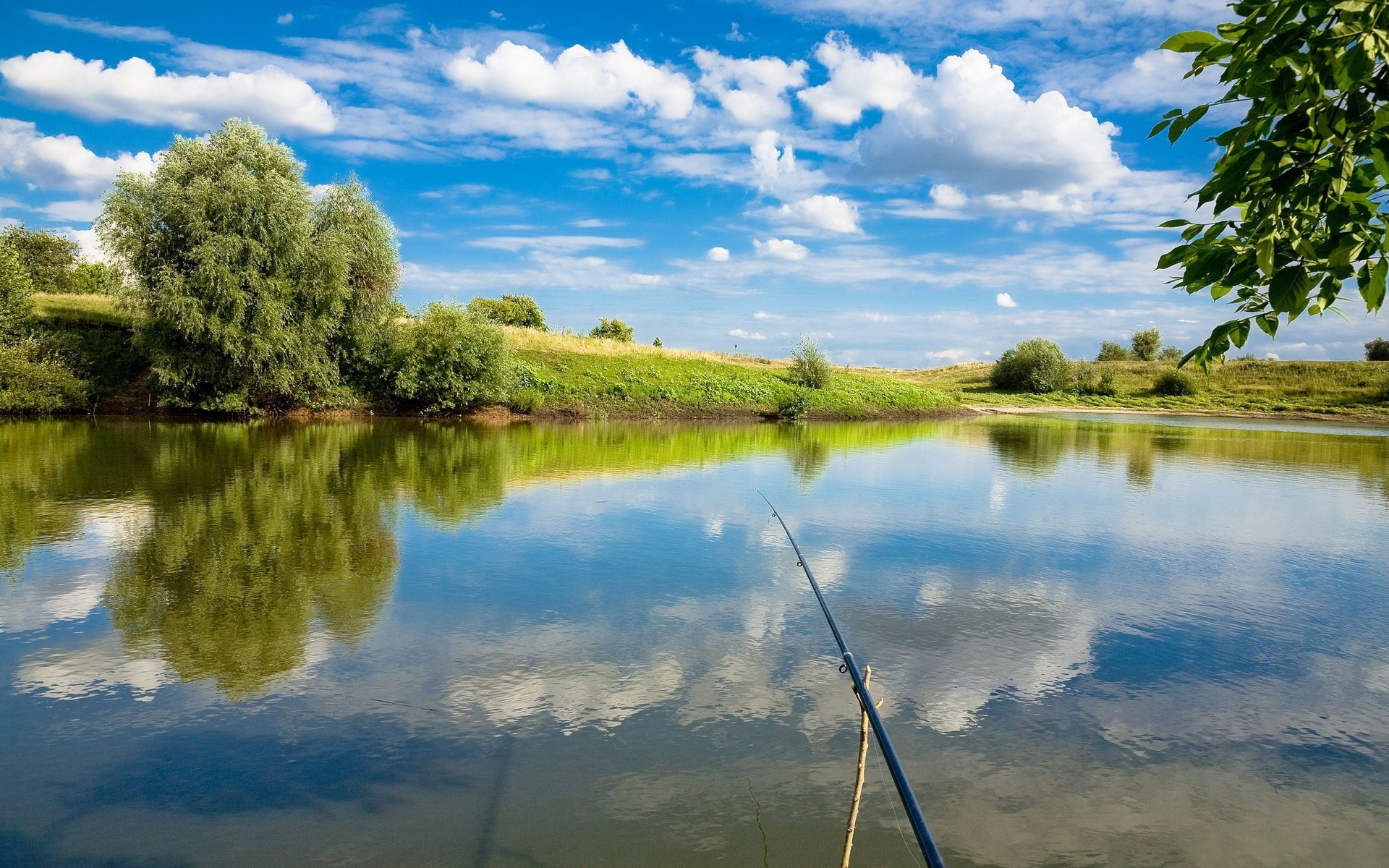 Fishing Background Wallpaper 1920x1200