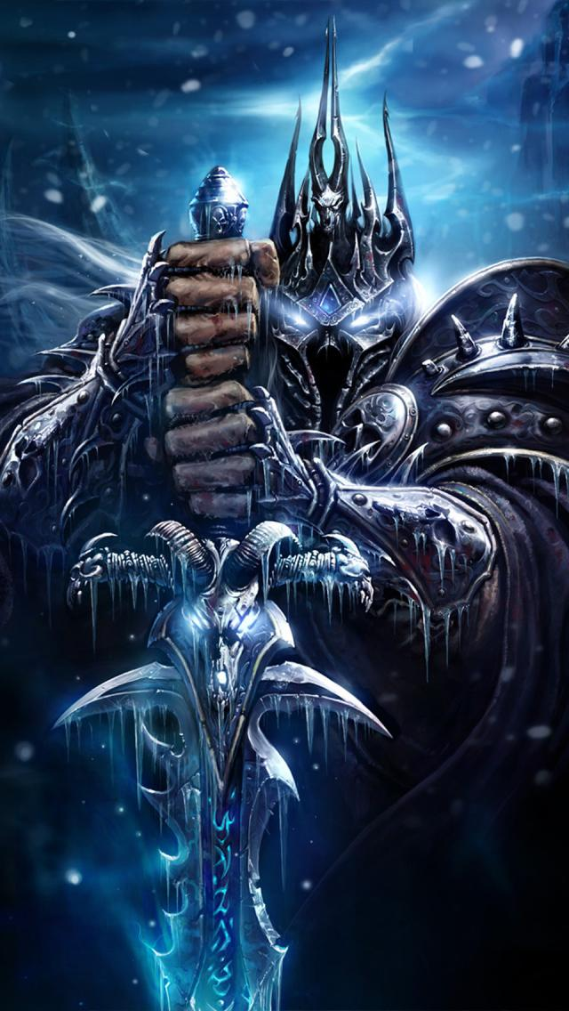 WOW World Of Warcraft Wallpaper 46 iPhone Wallpapers 640x1136