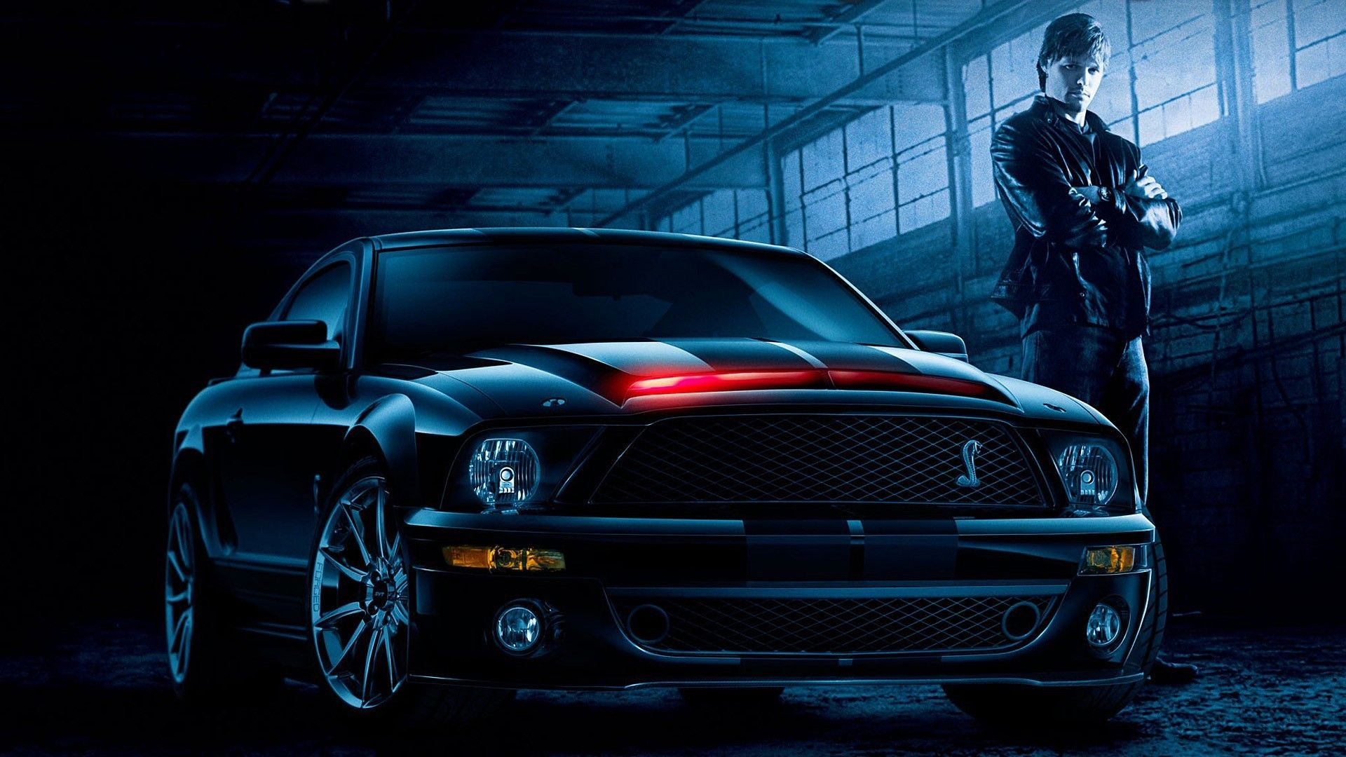 car Knight Rider Shelby Cobra KITT Wallpapers HD 1920x1080