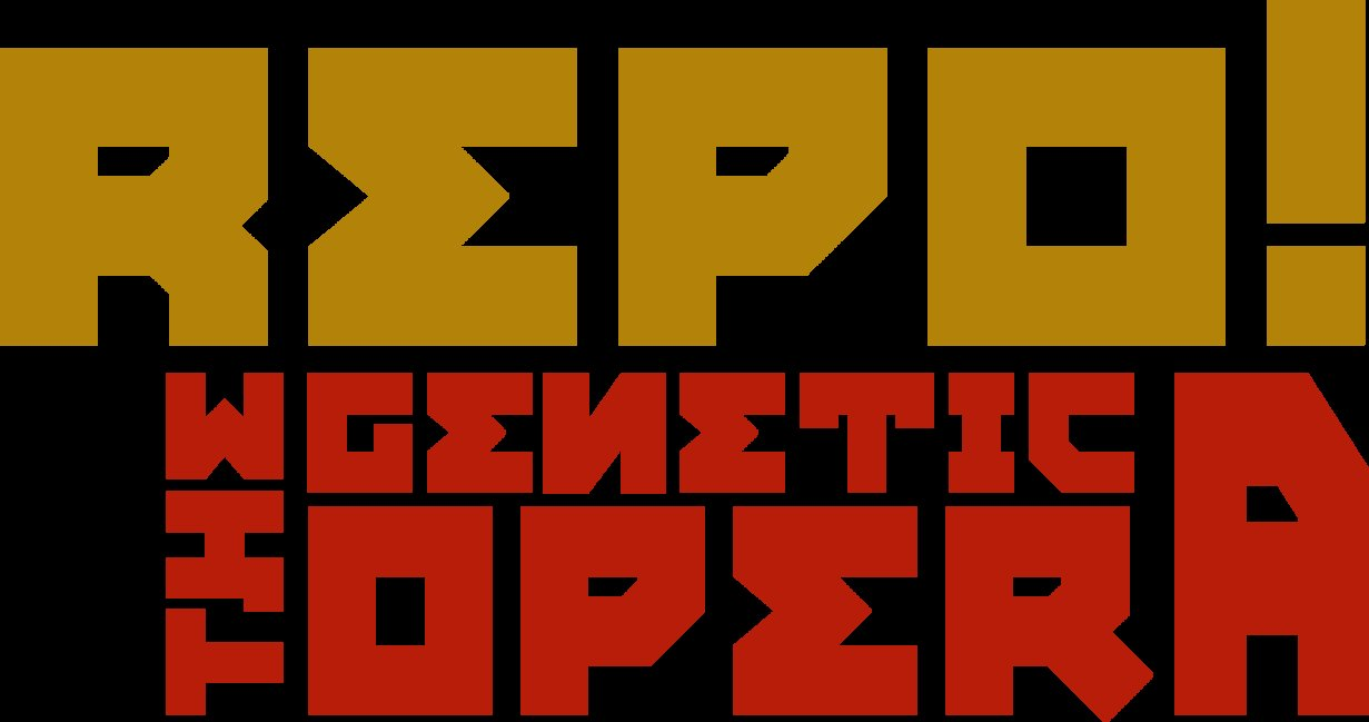 Repo The Genetic Opera   Logo Study by samanthamuscaria 1231x649