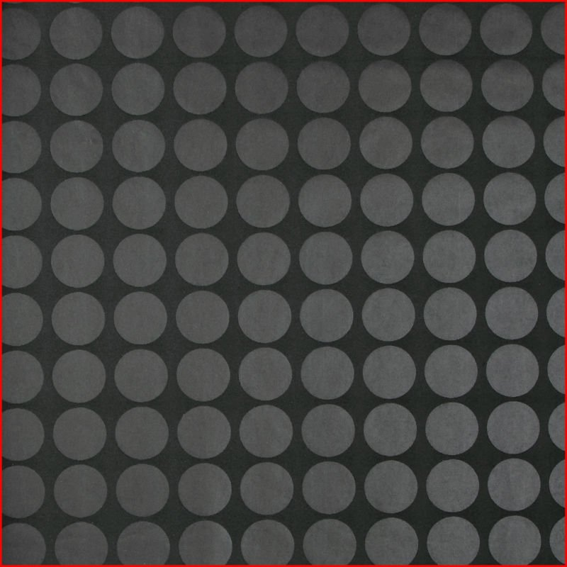Circle Pattern Flocked WallpaperWall Covering in Wallpapers from Home 800x800