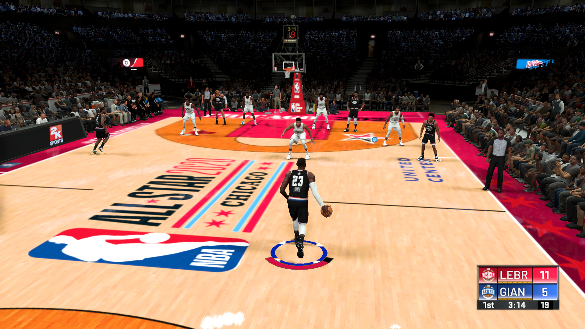 NLSC Forum Downloads   Fictional 2020 NBA All Star Chicago Court V2 1920x1080