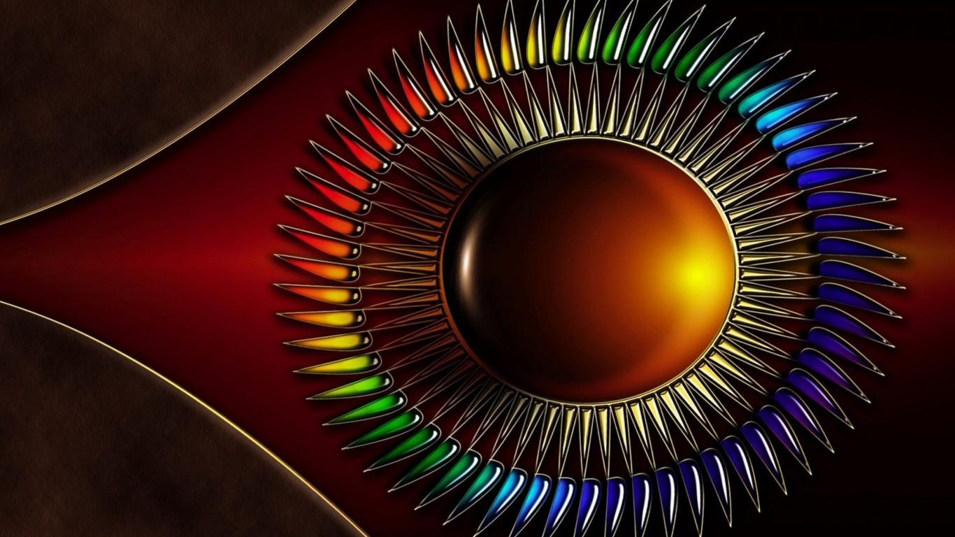 Ipad Retina 3d Desktop Wallpaper Abstract Wallpaper