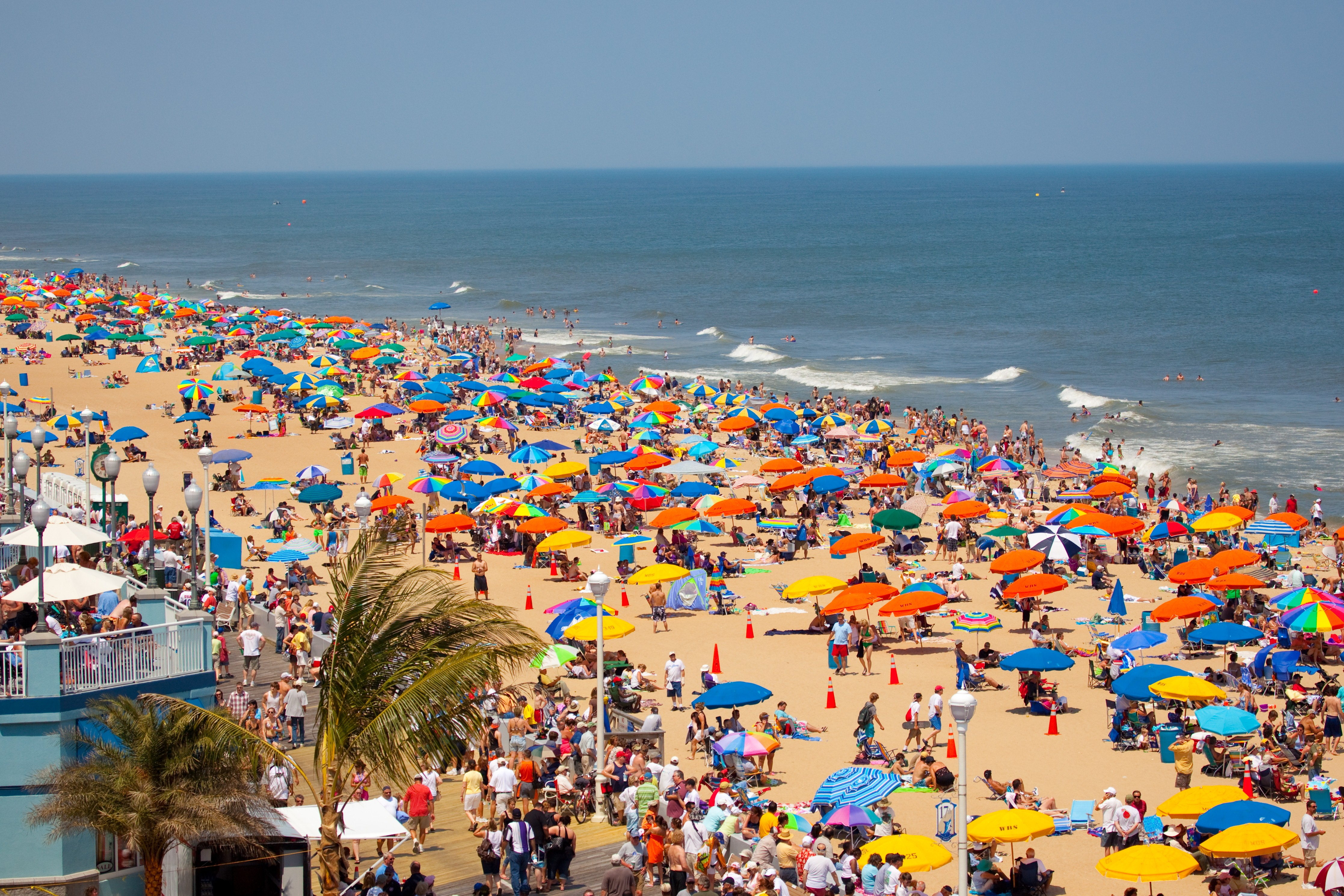 Ocean City United States Tourist Beach Wallpaper HD Wallpapers 4469x2979