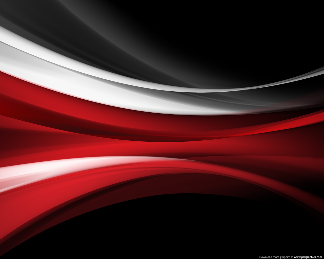 color theme red black white keywords flowing red light trails black 1280x1024