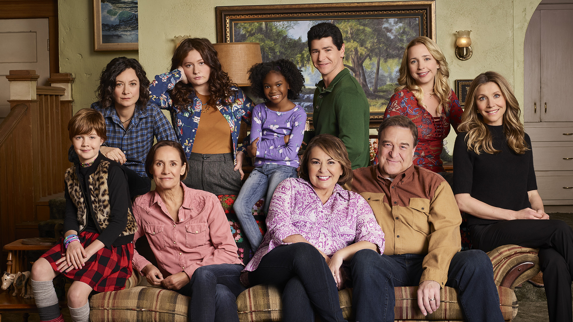 Roseanne cast reacts to reboot Dans alive and both Beckys are back 1920x1080