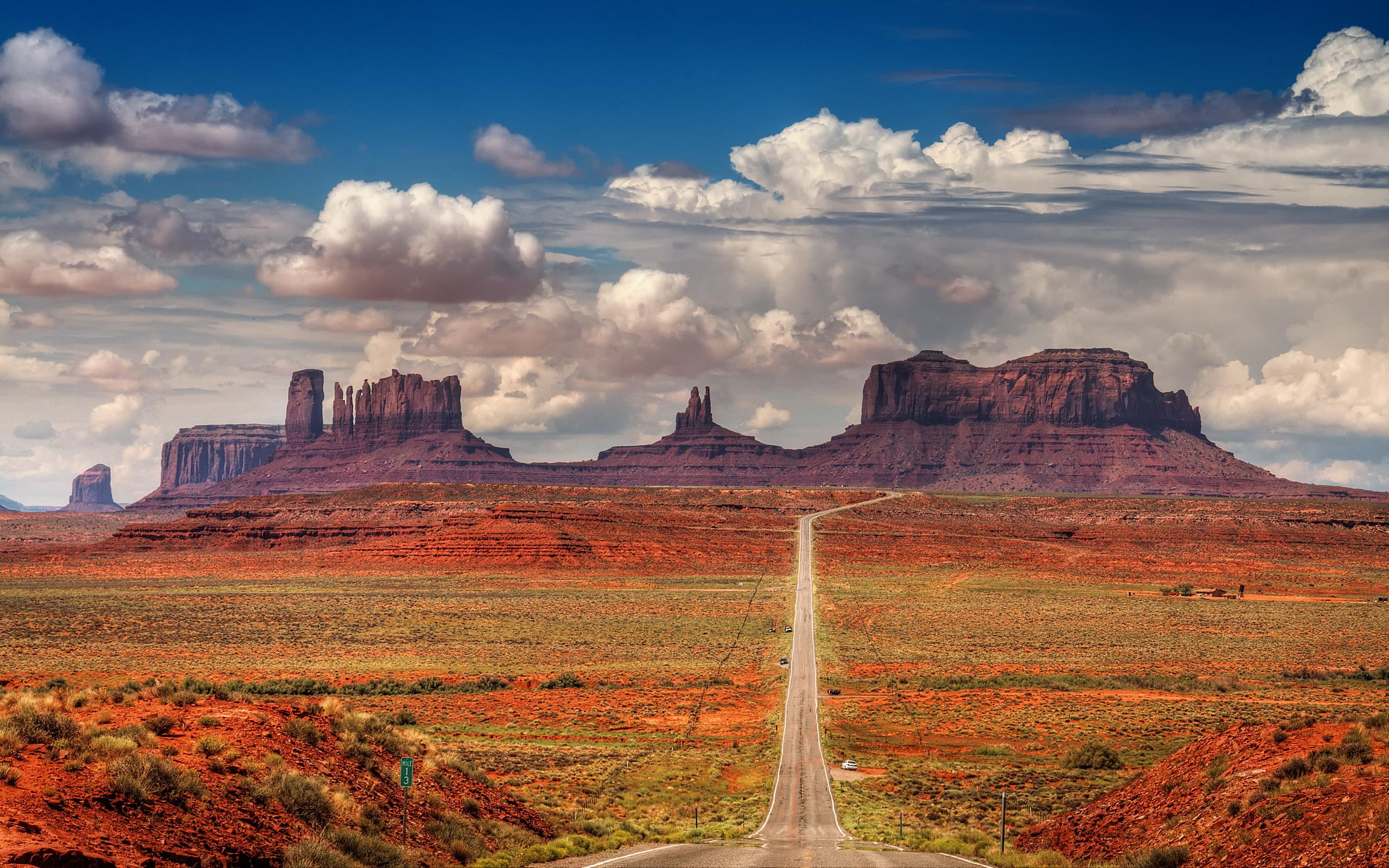 Desert Scenery Wallpaper Wallpapersafari