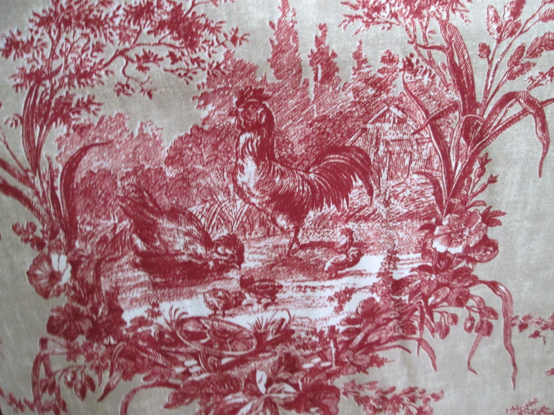 46+ Waverly Red Toile Wallpaper on WallpaperSafari