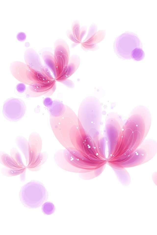 Pink Flowers Iphone 4 Wallpapers 640x960 Hd Iphone 4 Screensaver 640x960