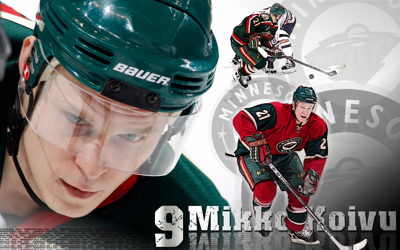 Mikko Koivu Minnesota Wild Wallpaper 171644 HD Wallpaper Res 1440x900