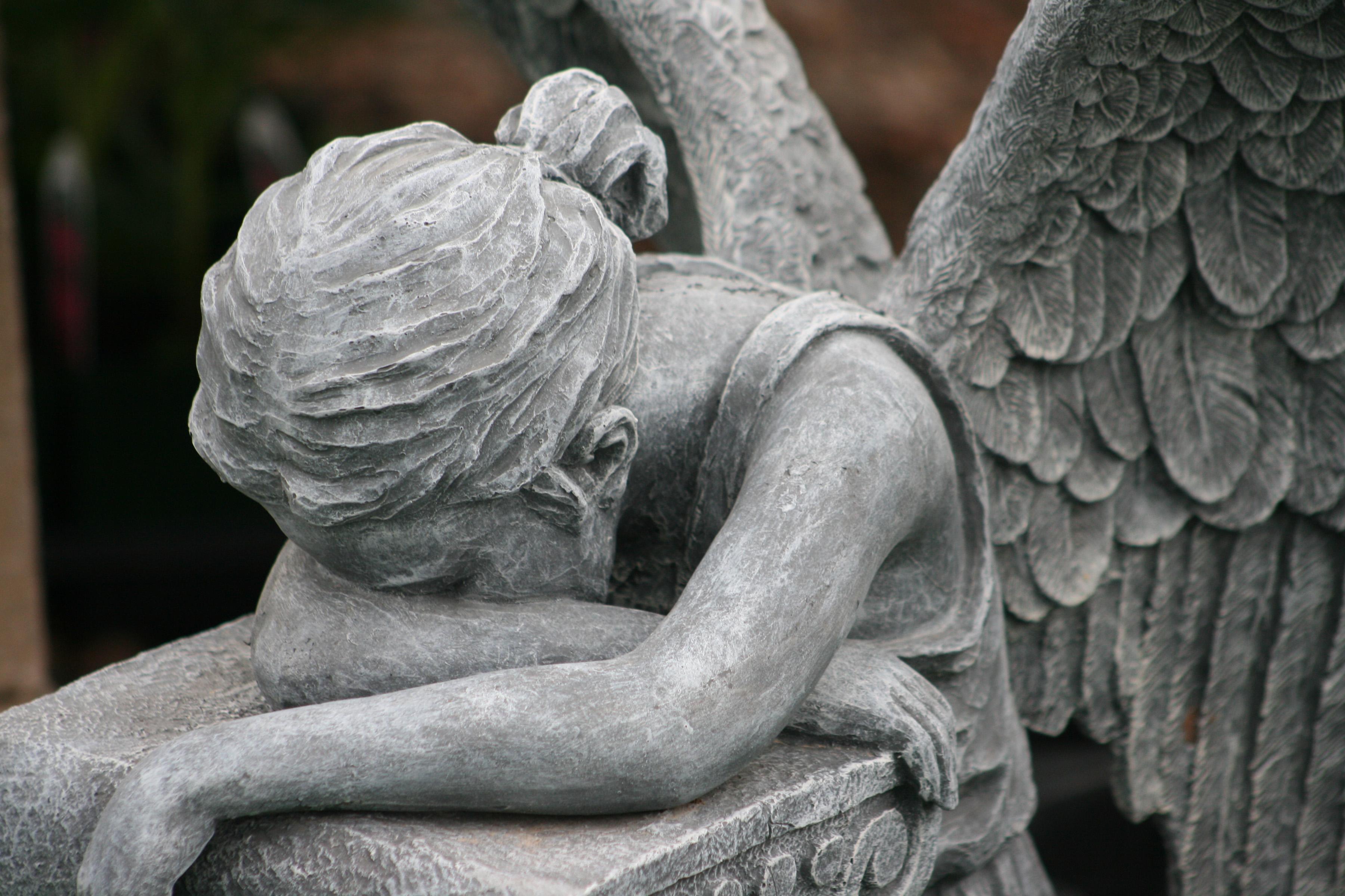 Man Made   Angel Statue Wallpaper 3600x2400