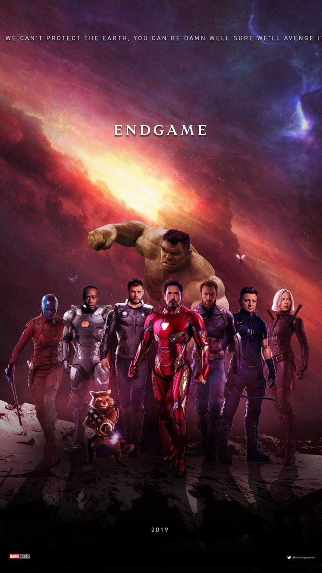 Avengers Endgame 2019 Poster Movie 2019 Movie Poster Wallpaper HD 1080x1920