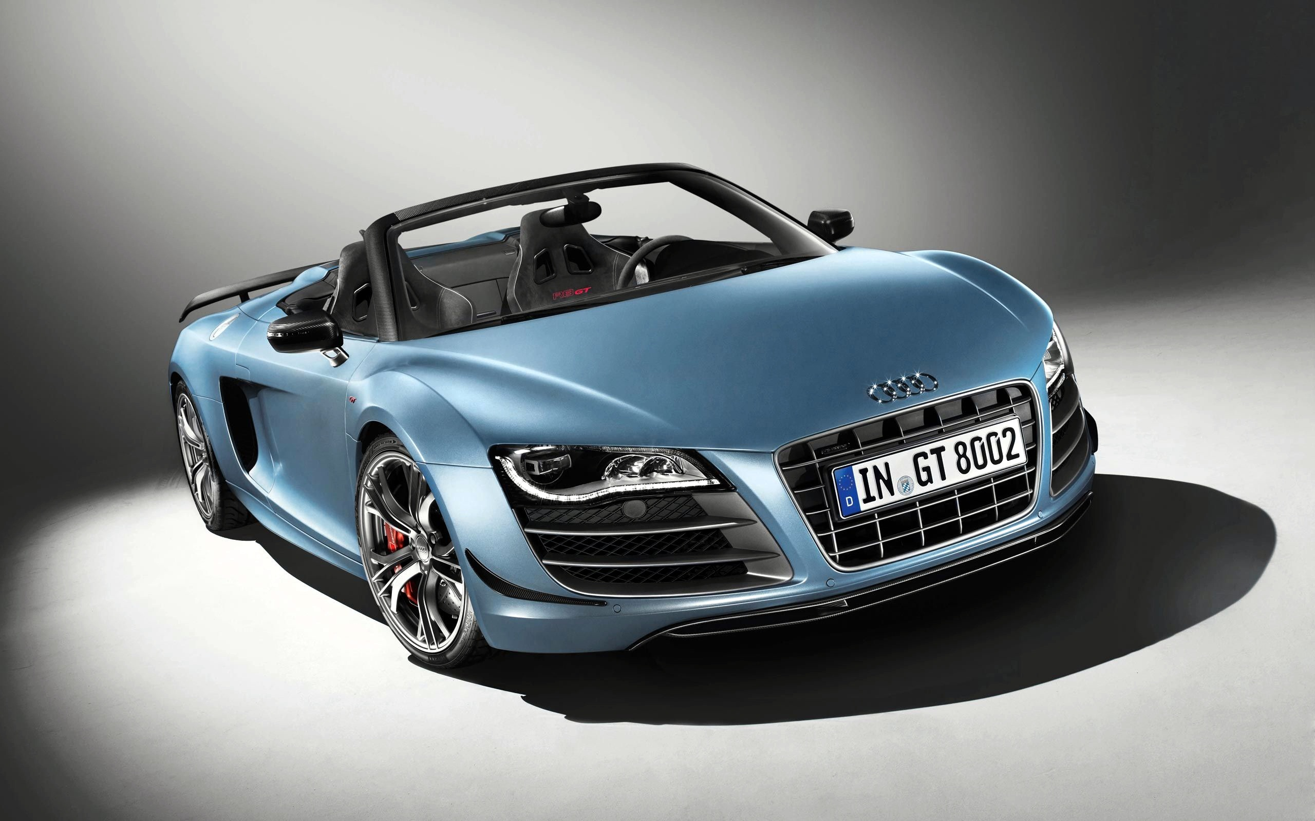 Wallpaper Of Car A Light Blue Audi R8 GT Wallpaper World 2560x1600