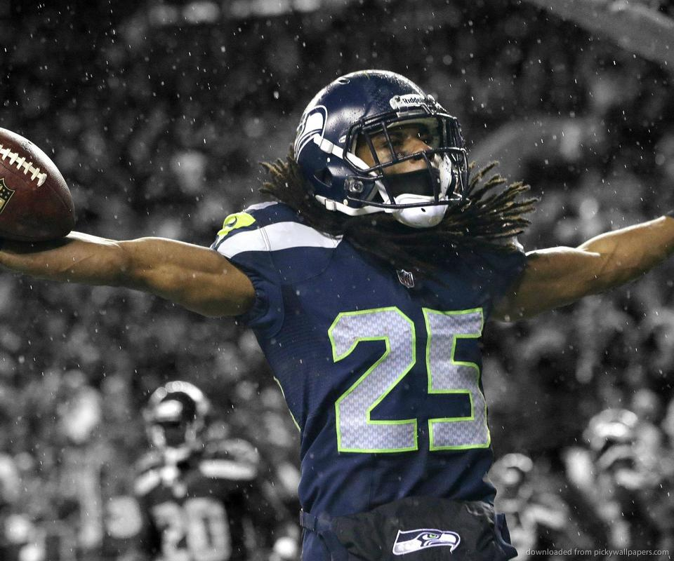 Download Seattle Seahawks Richard Sherman Wallpaper For Samsung Epic 960x800