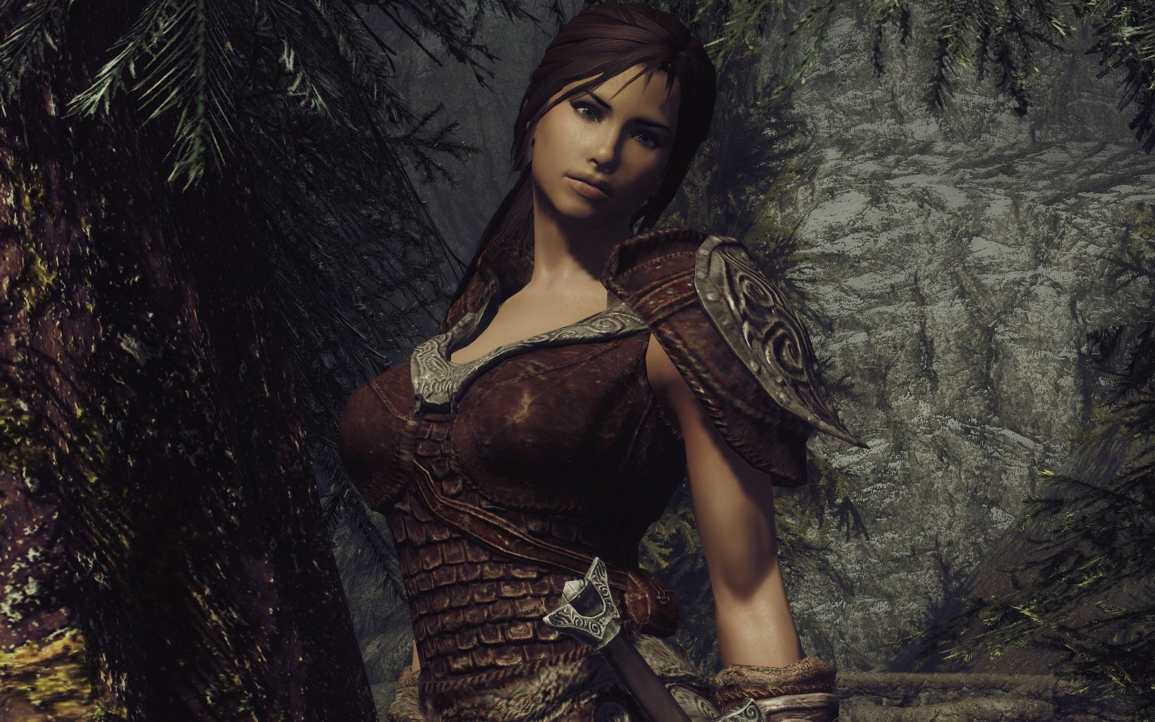 Skyrim female character mods hentai lady