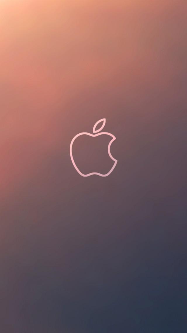 Apple Fluorescence Brand iPhone 5s Wallpaper Download iPhone 640x1136