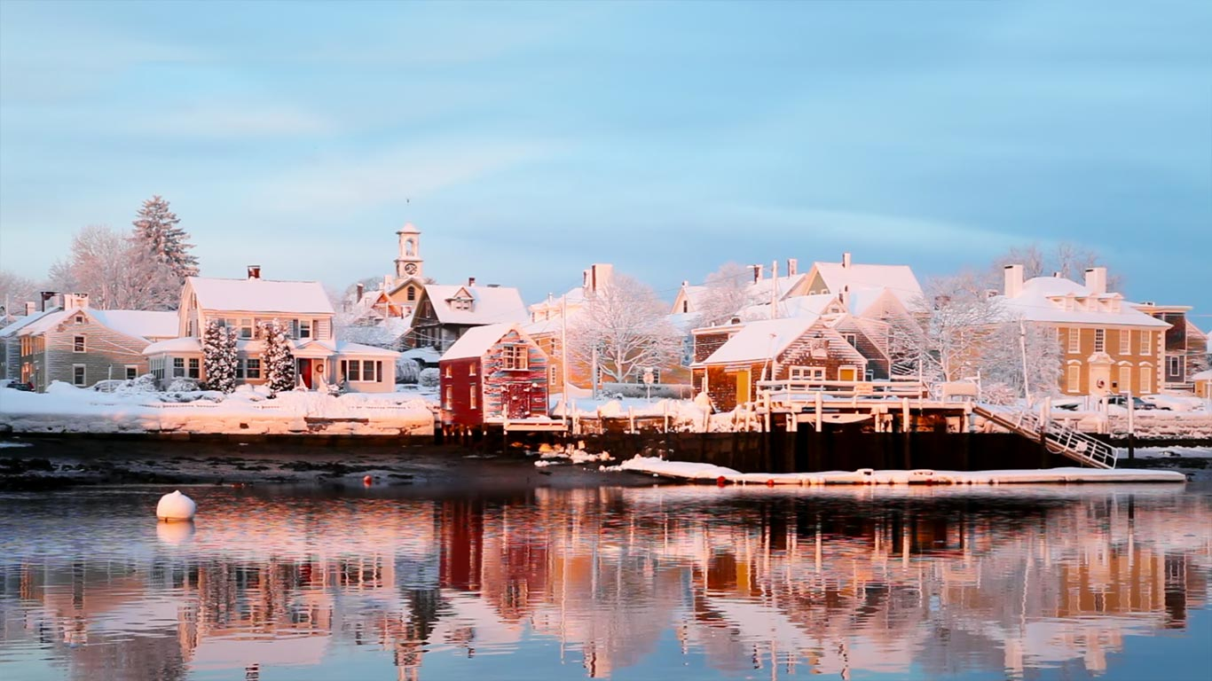 Piscataqua River Portsmouth New Hampshire Denis Tangney Jr 1366x768