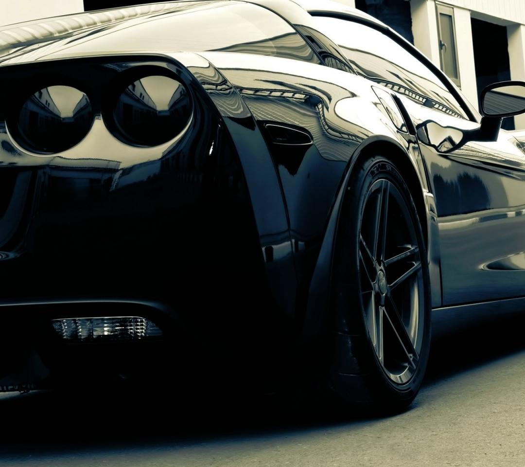 corvette black cars 1920x1200 wallpaper Wallpaper Wallpapers 1080x960