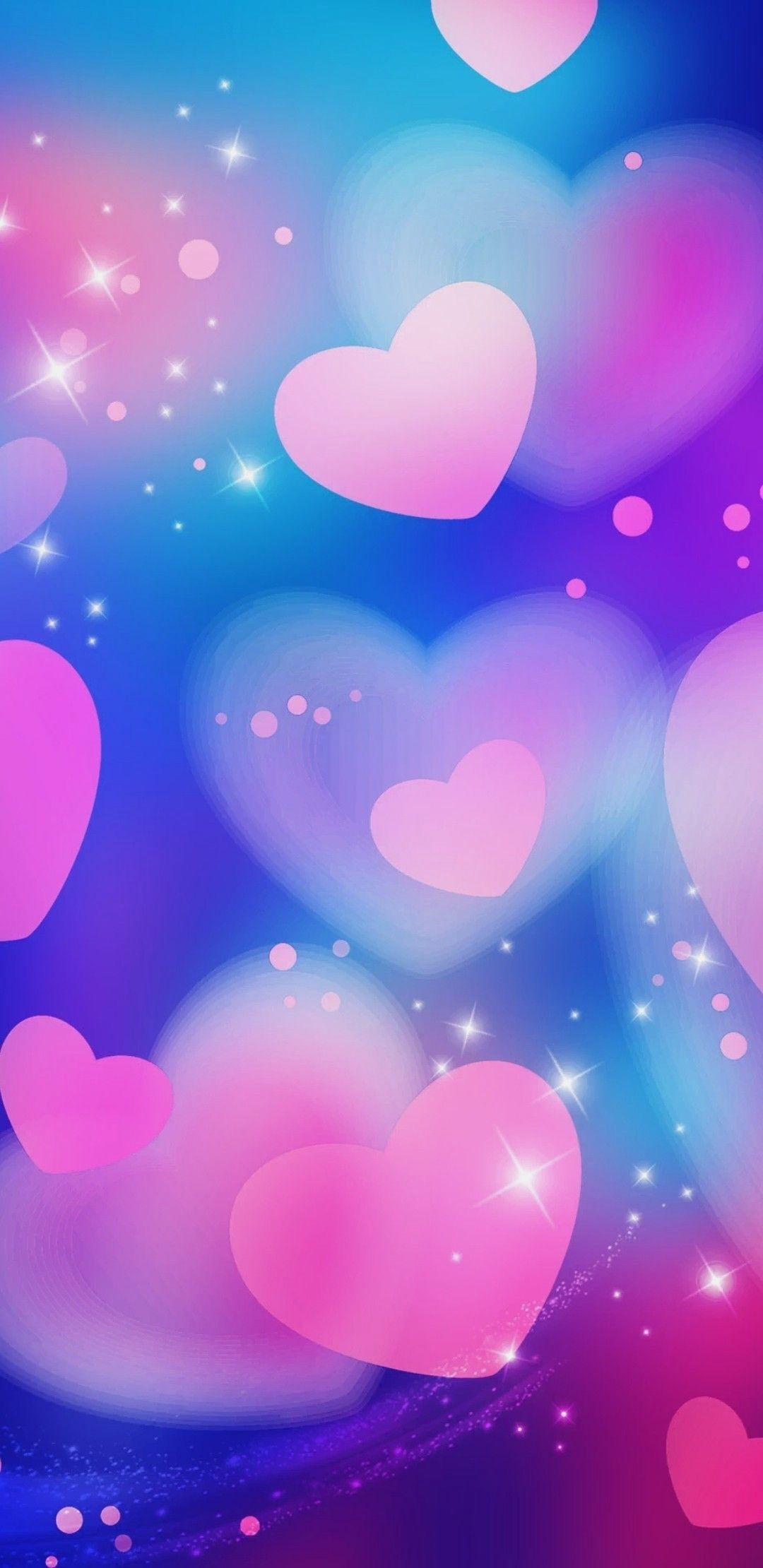Nerdy Wallpaper Heart Wallpaper Pink Wallpaper Galaxy   Cute 1080x2220