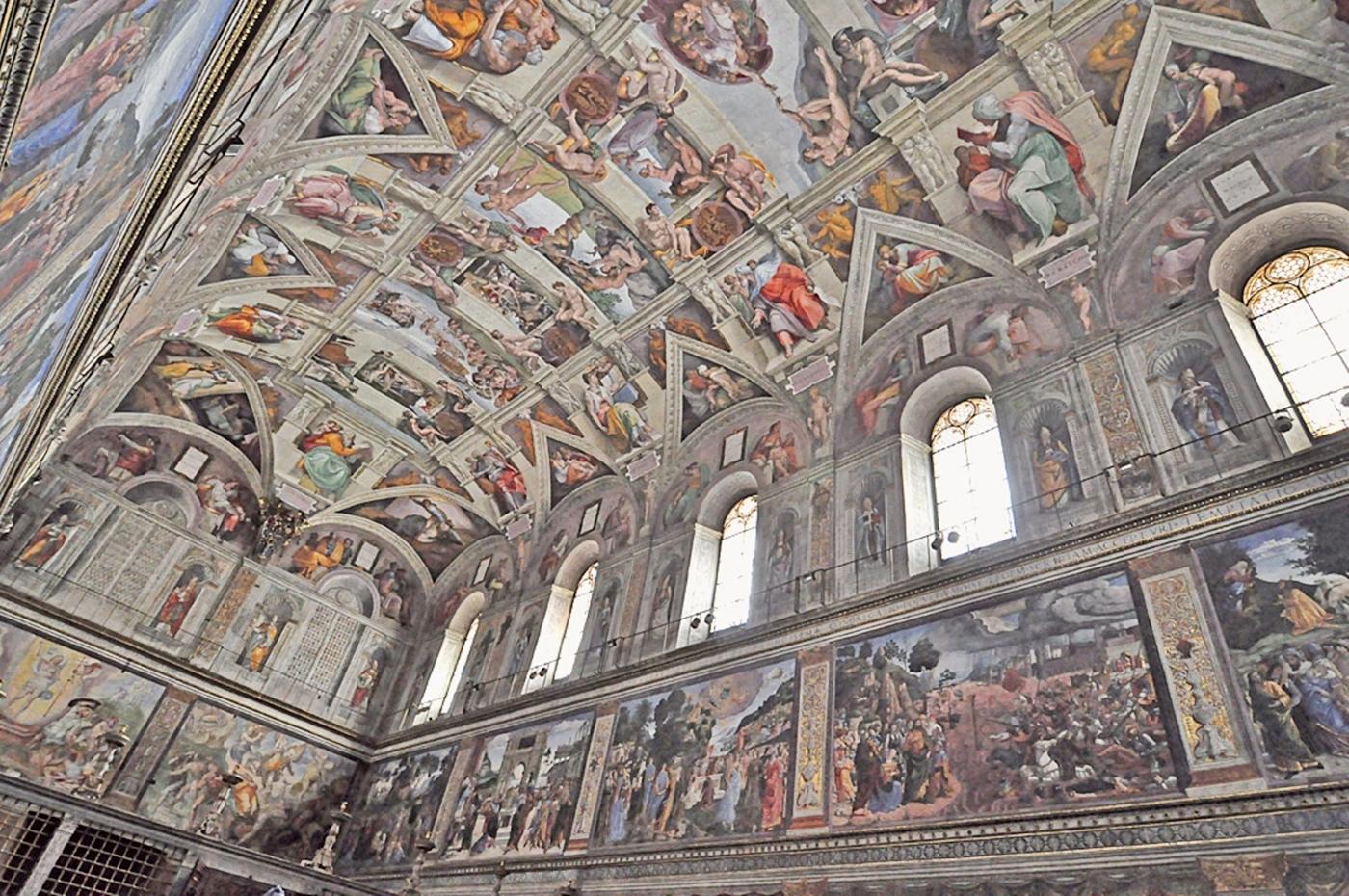 Download sistine chapel ceiling 33 sistine chapel images 1400x930