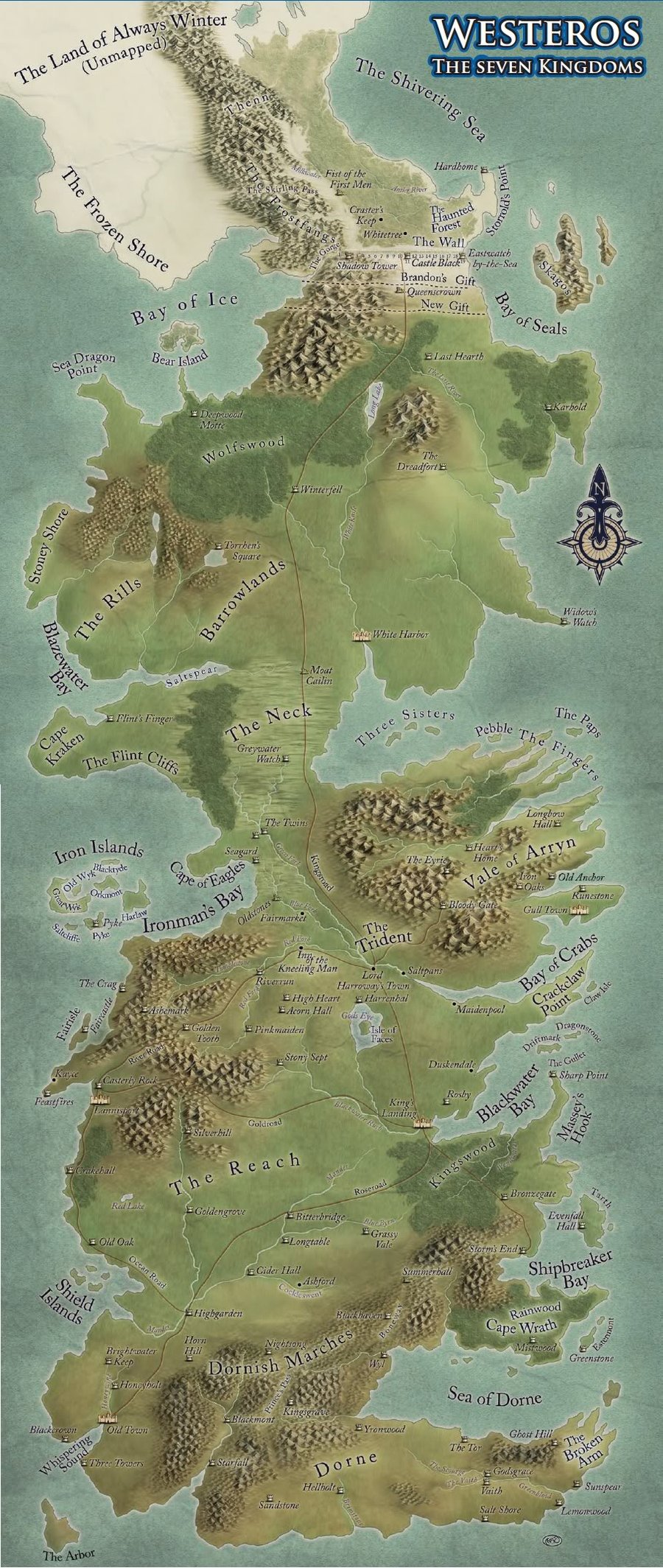 westeros map by sociallyartward scraps 2011 2015 sociallyartward map 900x2128