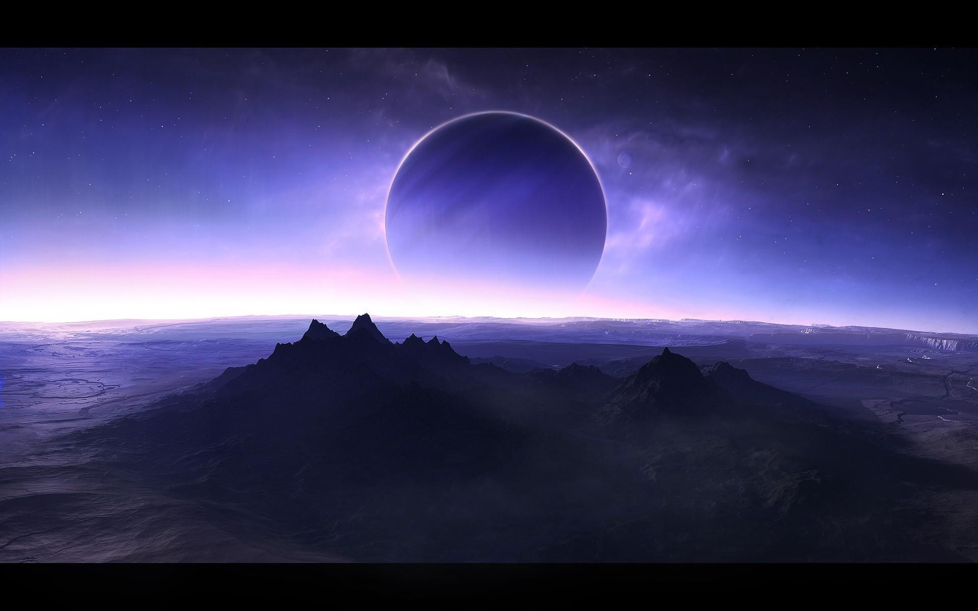 Fantasy Planet Blue planet HD Wallpapers Desktop 1920x1200