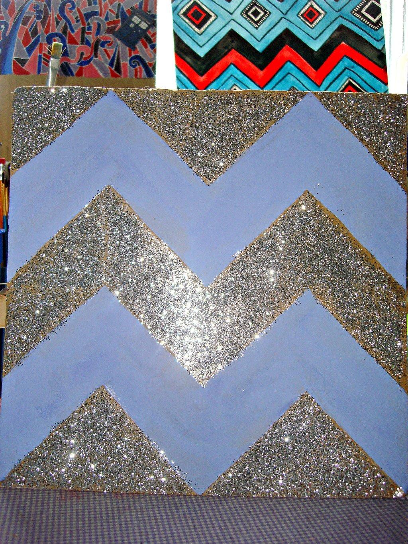 Glitter Chevron Wallpaper Board By 1024x1365