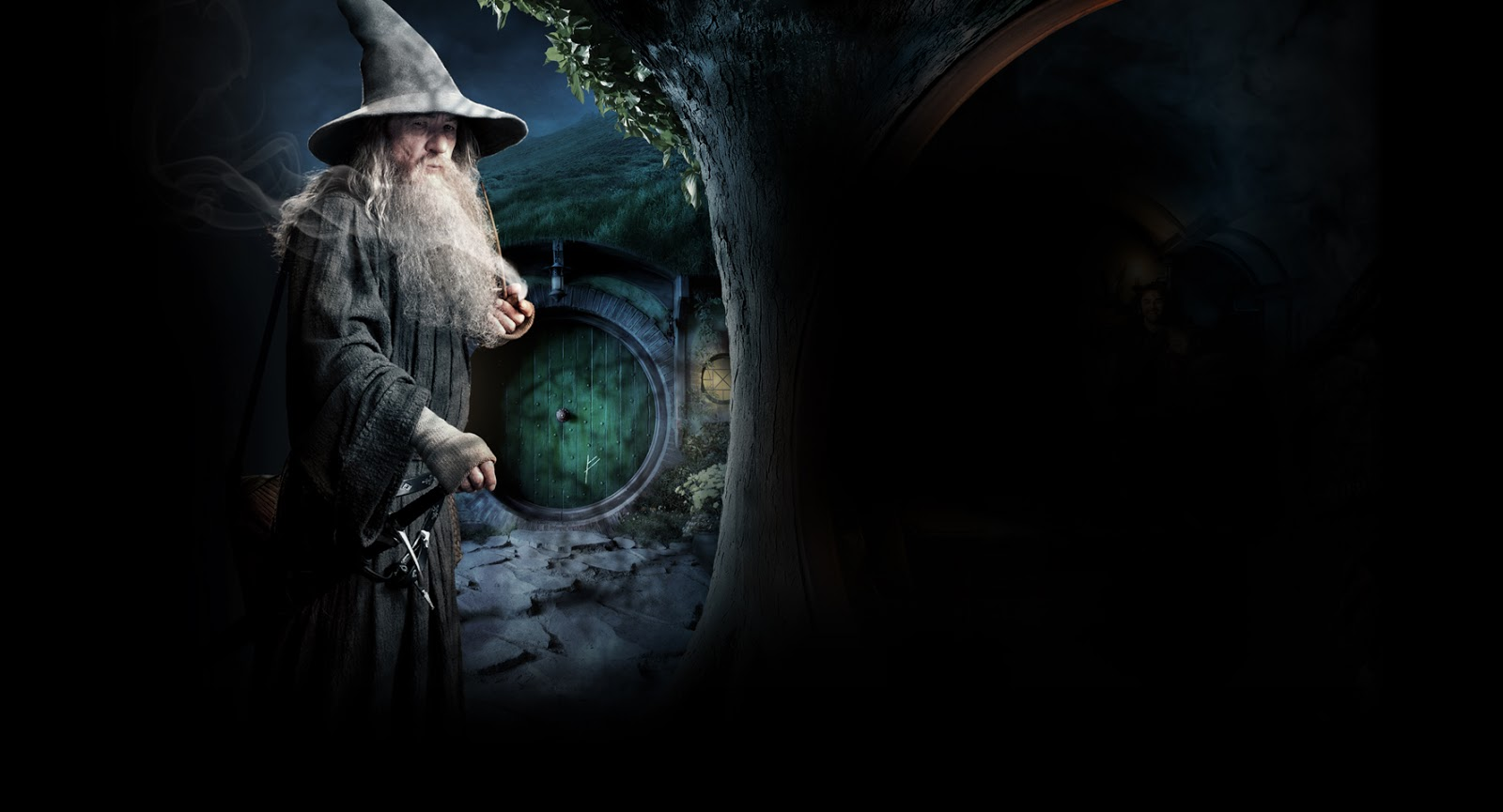 LEAGUE OF FICTION The Hobbit Gandalf and Dwarf Company HD Wallpapers 1600x865
