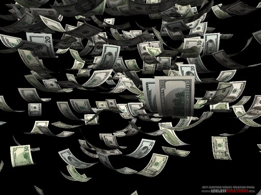 Moolah 3D Money Screen Saver 111   Money screensaver Shareware 512x384