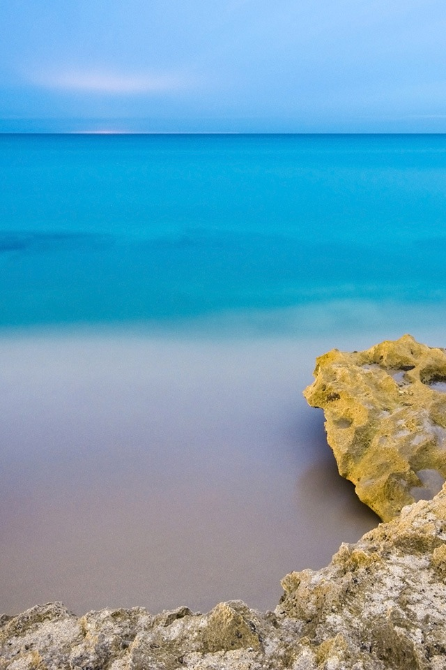 Seaside Simply beautiful iPhone wallpapers 640x960
