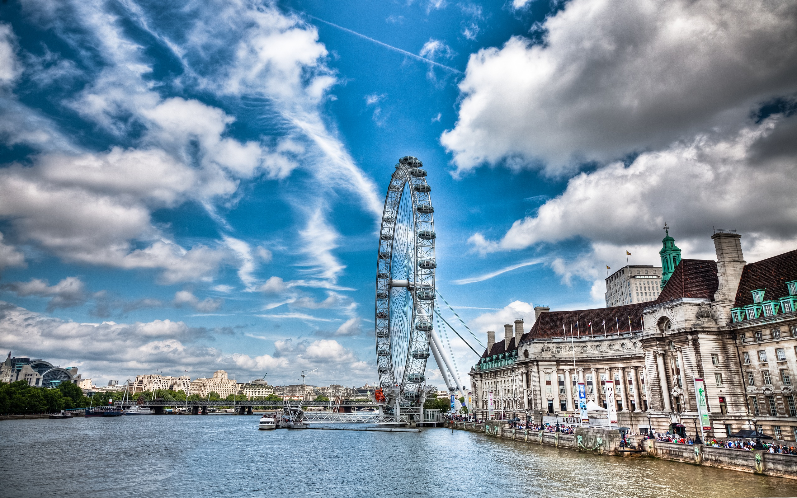 Unique London Eye HD Wallpapers 2560x1600
